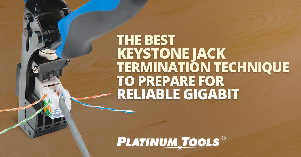 The Best Keystone Jack Termination Technique to Prepare for ... Keystone Cat Connector Wiring Diagram on keystone rj11 wiring-diagram, keystone cat6 cables, cat 7 wiring diagram,
