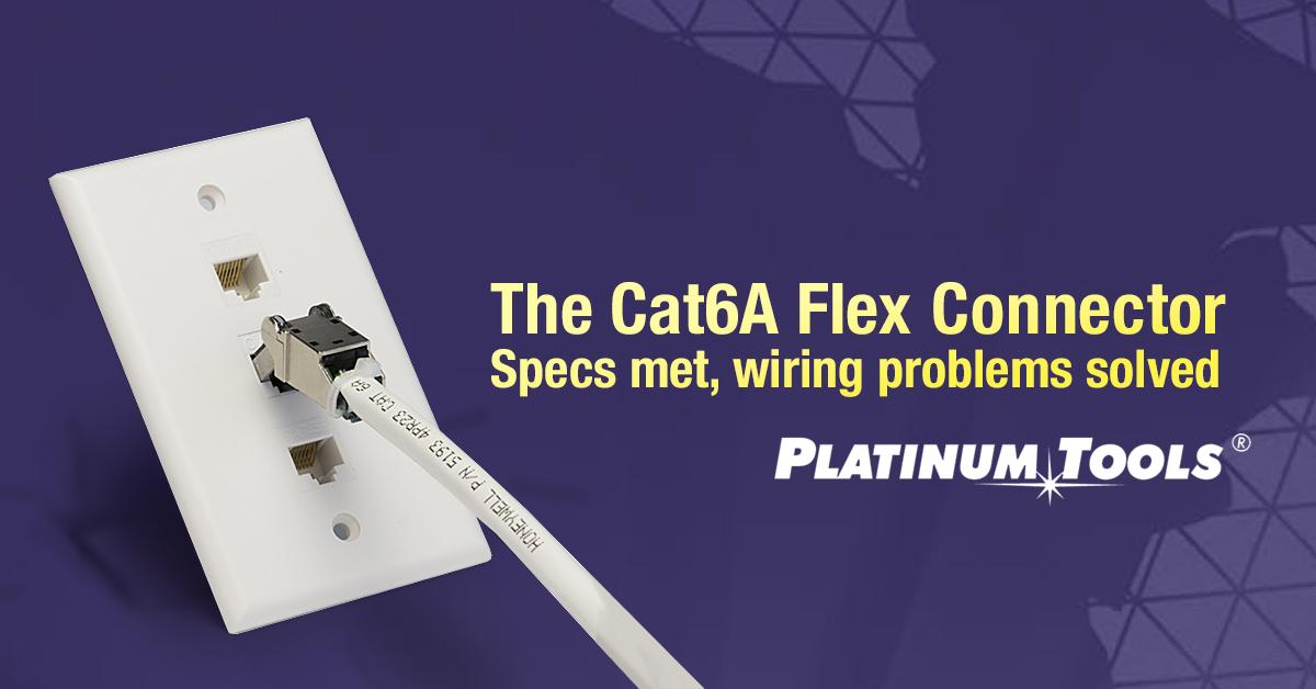 CAT 6A Flex Connector