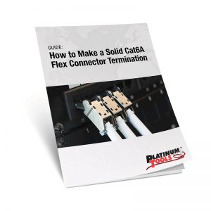 cat6a flex connector termination guidebook