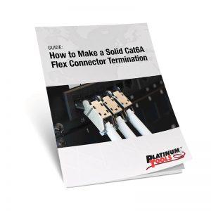cat6a flex connector termination guidebook