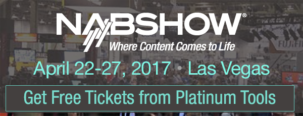 NAB 2017 Platinum Tools