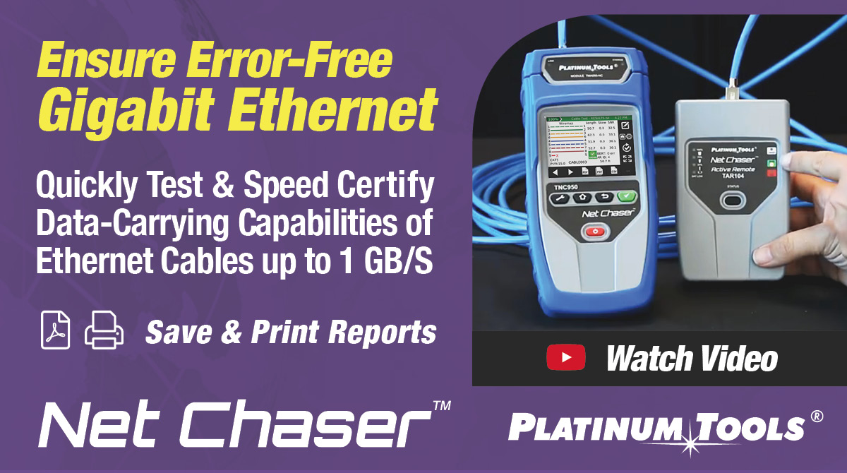Ethernet Speed Certification