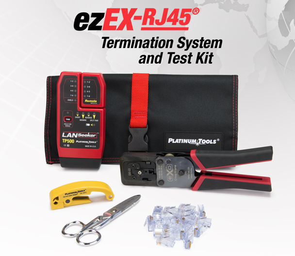 ezEX RJ45 Termination System Test Kit