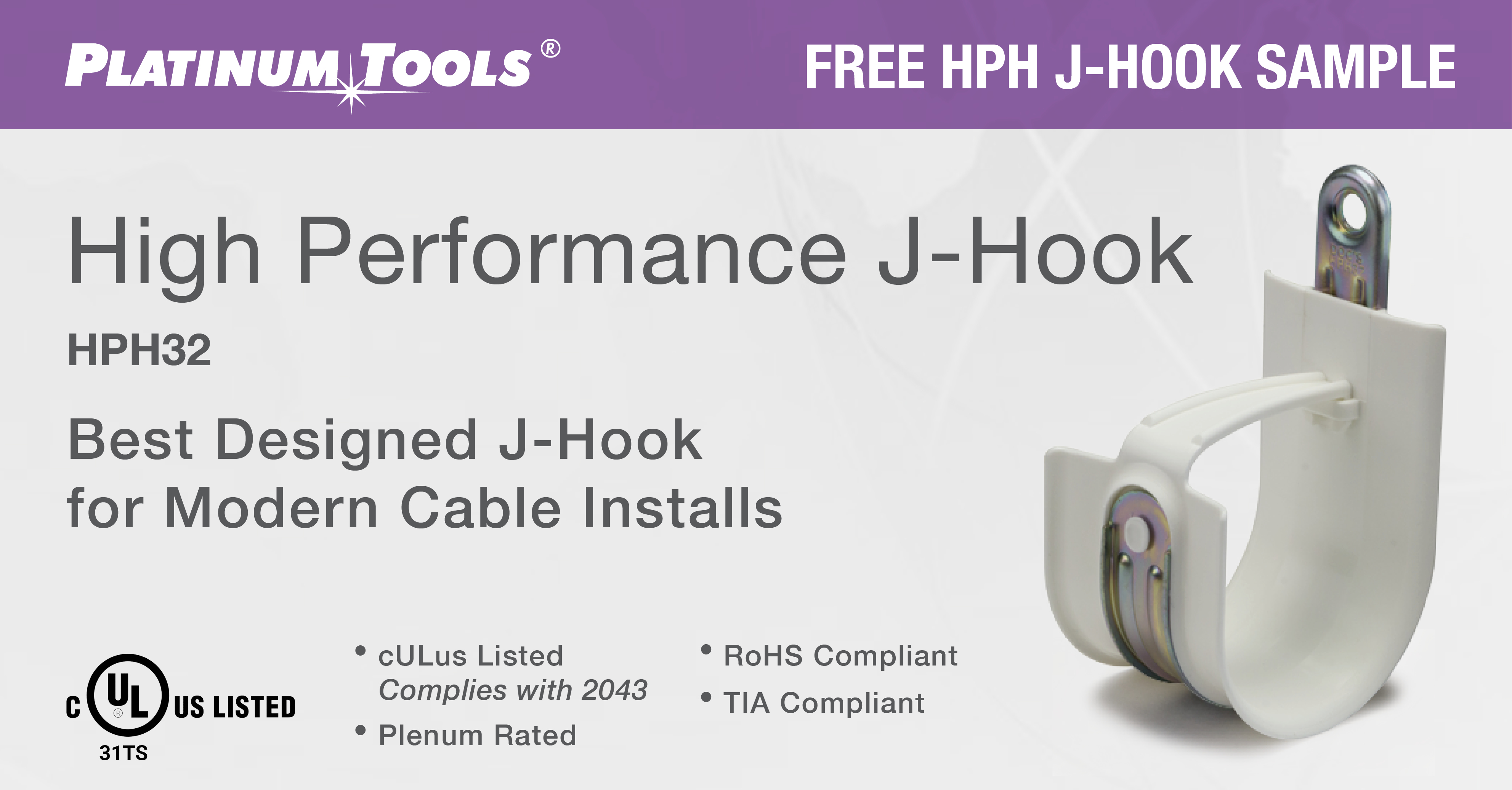 J-Hook Sample Platinum Tools