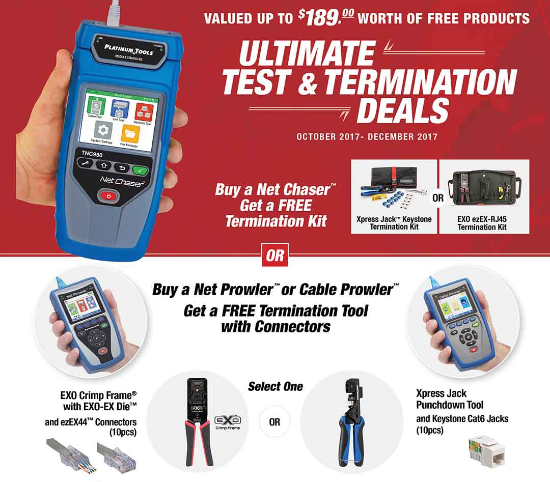 Ultimate Test & Termination Deals from Platinum Tools