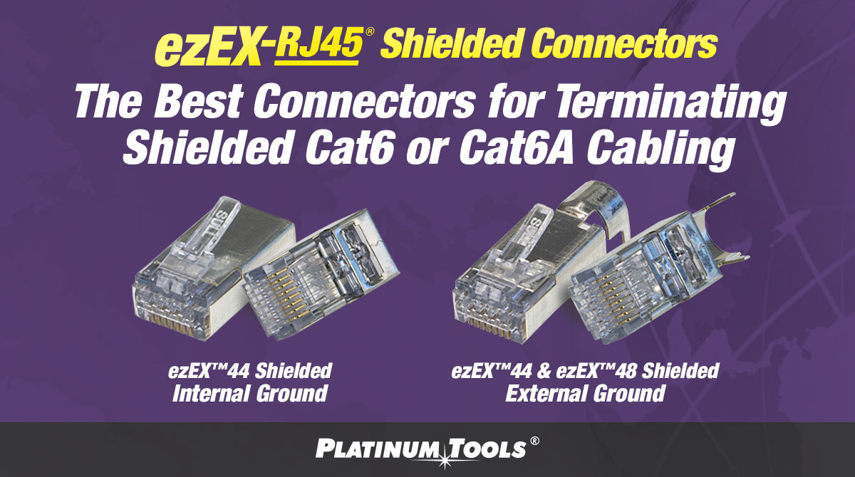ezEX-RJ45 Shielded Connectors