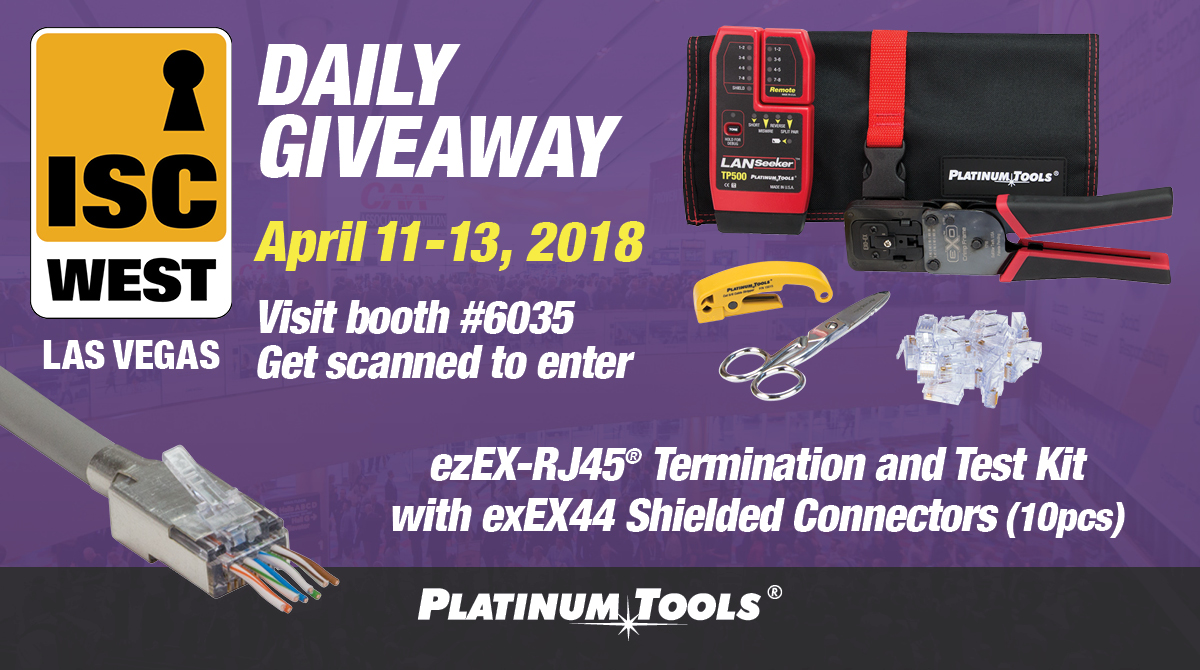 ISC West Daily Giveaway