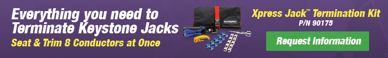Xpress Jack Punchdown Termination Kit