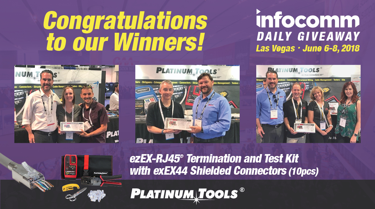 Infocomm 2018 Winners
