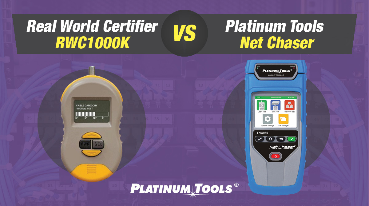 Real World Certifier RWC1000K vs Net Chaser