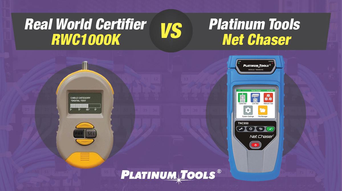 Real World Certifier RWC1000K vs Net Chaser