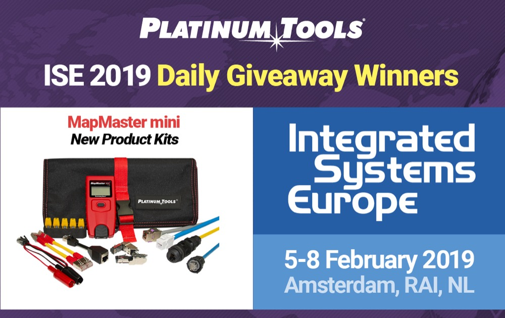ISE 2019 Show Giveaways