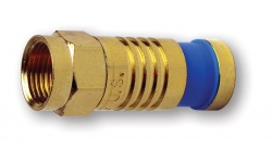 F-Type Gold SealSmart Coaxial Compression Connectors