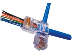 EZ-RJ45® CAT5/5e Connectors