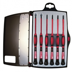 1KV Insulated Precision Screwdriver Set,  6 pc.