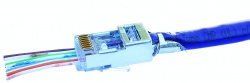 Shielded EZ-RJ45® for CAT5e & CAT6 with External Ground