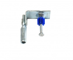 Angle Clip - Threaded Rod RT 1/4-20 with Powder Actuated Nail