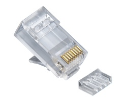 Standard CAT6, 2 Piece High Performance RJ45 Connectors