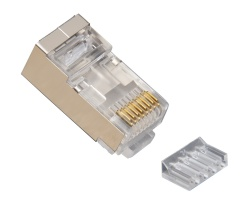 Standard CAT6 Shielded, 2 Piece High Performance RJ45 Connectors