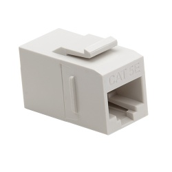Keystone Cat5e Data Coupler, White