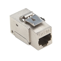 Keystone Cat6A Tool-less, Shielded Jack