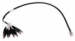 Cable Assembly: RJ45 to 8-Way alligator clips 24 inch