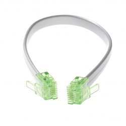 Cable Assembly: RJ12 No-Fault Cable. 7.5 inch