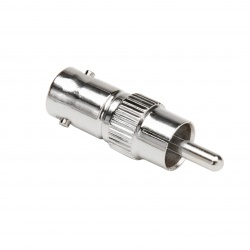 Coax Adapter: RCA Male-to-BNC Female