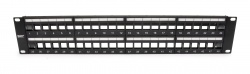 Unloaded Patch Panel, 48 Port, Unshielded