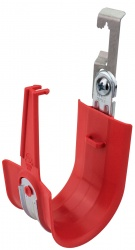 HPH J-Hook, Batwing Clip, Red