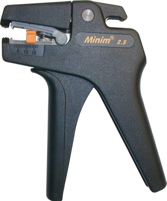 Minim 25 Self-Adjusting Small-Gauge Wire Stripper - Platinum Tools