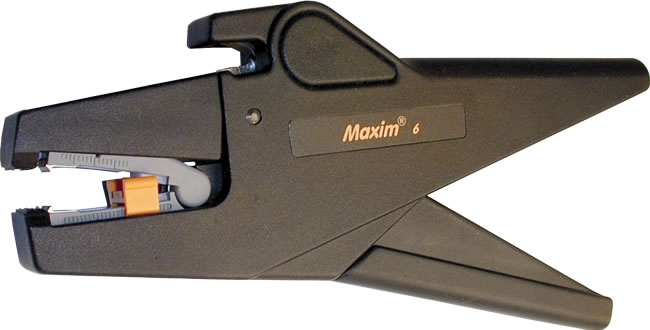 Maxim 6 Ergonomic Self-Adjusting Wire Stripper 24-10 AWG - Platinum Tools