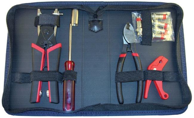 CCTV Compression Coax Kit - Platinum Tools