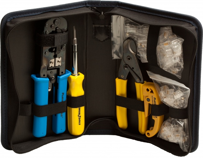 All-In-One Modular Plug Kit - Platinum Tools