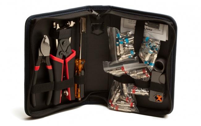 Coaxial Termination Kit - Platinum Tools