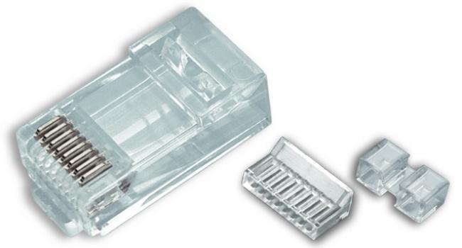 Standard CAT6 High Performance RJ45 Connectors - Platinum Tools