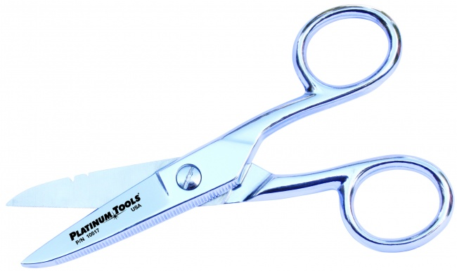 Scissor-Run Electricians Scissors - 5 - Platinum Tools