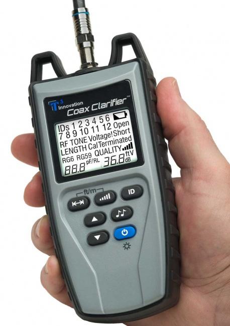 Coax Clarifier Coax Mapper and Coax Tester - Platinum Tools