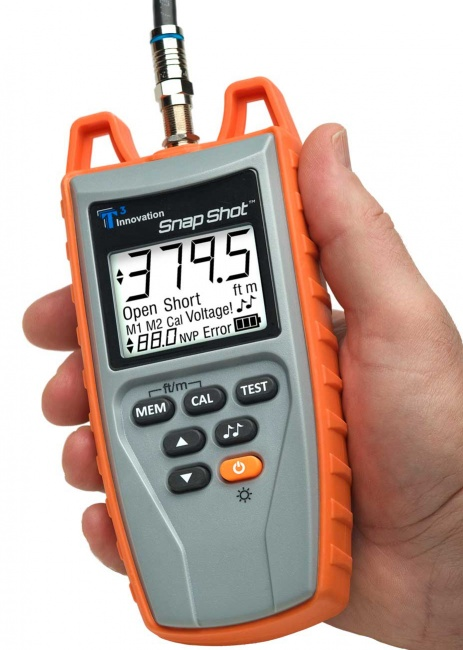 Snap Shot Cable Fault Finder Cable Length Measurement TDR - Platinum Tools