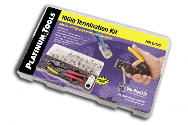 10Gig Termination Kit - Platinum Tools