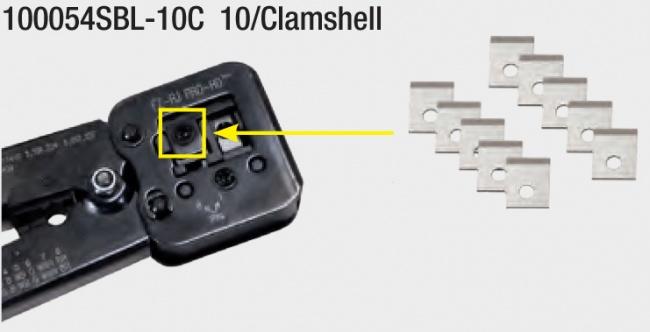 10-Pack Replacement Blades for EZ-RJPRO HD Crimp Tool - Platinum Tools