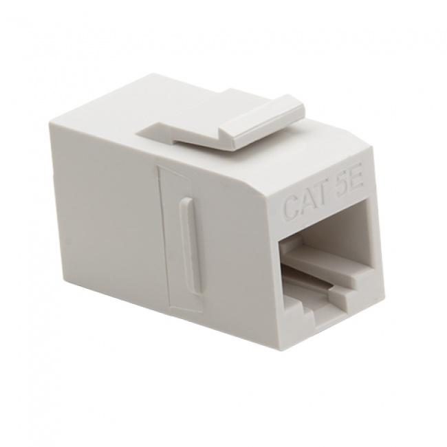Keystone Cat5e Data Coupler White - Platinum Tools