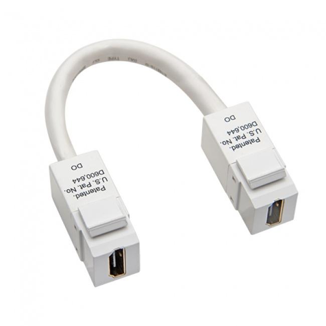 Keystone HDMI to HDMI Pigtail White - Platinum Tools