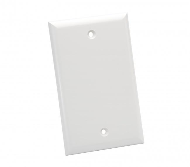 Standard 1 Gang Blank White - Platinum Tools