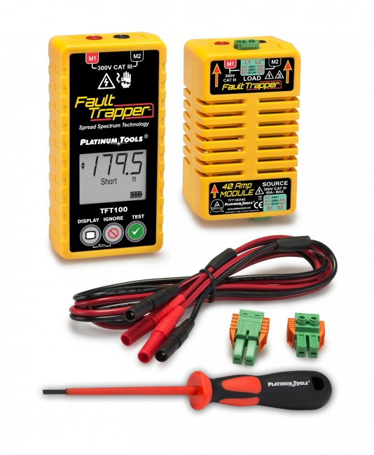 Fault Trapper Arc Fault Circuit Tester and Fault Locator - Platinum Tools