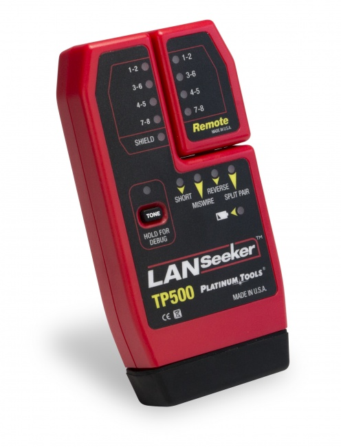 LANSeeker Cable Tester - Platinum Tools