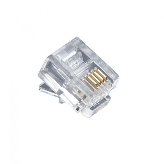 RJ -11 Standard Modular Plugs - Platinum Tools