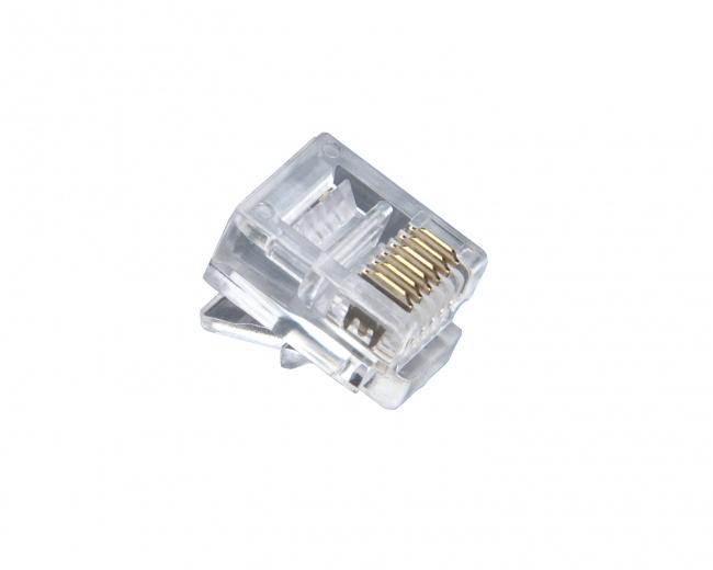 RJ-12 Standard Modular Plugs - Platinum Tools
