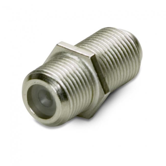 Coax Adapter: F-Connector Coupler F81 - Platinum Tools