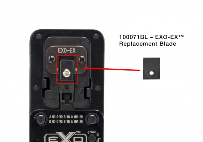 EXO-EX Die Replacement Blade - Platinum Tools
